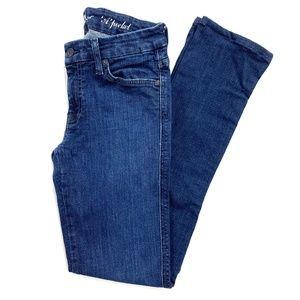 7 For All Mankind Dark Wash Boot Cut A Pocket